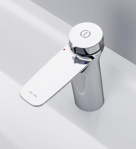 F50A02500 Inspire V2.0, смеситель для умывальника, нажимной, хром, шт.
