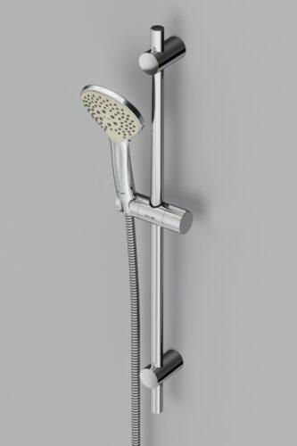 F0190000 Gem душ.комплект: ручн.душ 1 ф-ция d 110 мм, штанга 700, шланг 1 750 мм, хром, шт.