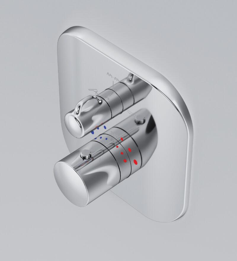 F3085500 Sensation, cмеситель д/ванны/душа встраиваемый с термостатом, шт