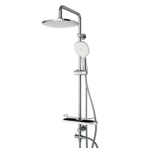 D0740000 Prime душевая система с тропическим душем, ручной душ 5 функций,  шланг 175 мм