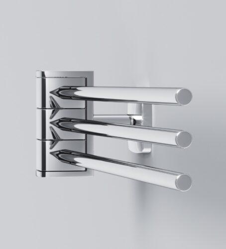 A9032700 Gem, Тройная вешалка-вертушка для полотенец