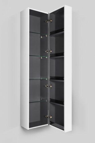 M70ACHR0356WG  SPIRIT 2.0, шкаф-колонна, подвесной, правый, 35 см, фасад с полочками, push-to-open,