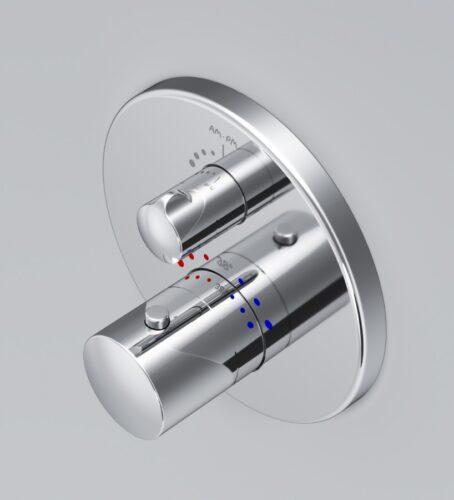 F8085500 Like, cмеситель д/ванны/душа встраиваемый с термостатом, шт
