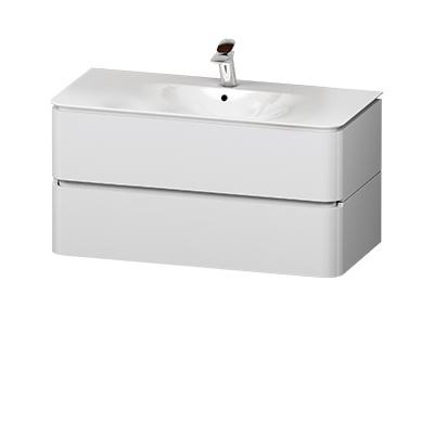M30FHX1002FG Sensation, База под раковину, подвесная, 100 см, ящики, серый шелк, глянцевая, шт
