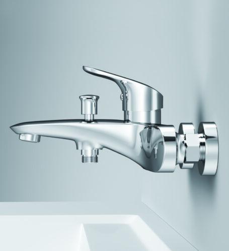 F8010016 Like смеситель для ванны и душа, излив 199 мм, хром, шт