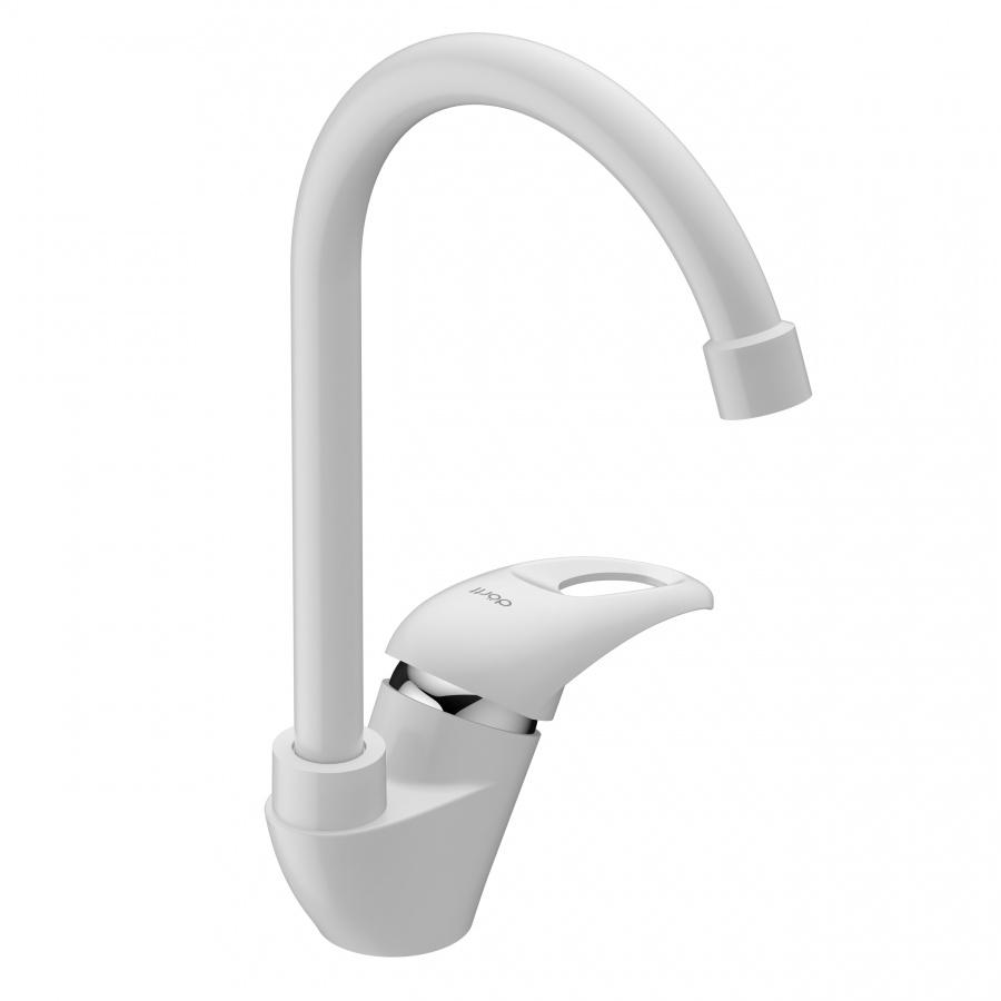 D8000000WH Comfort смеситель для кухни, материал полимер, цвет белый