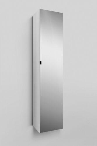 M70ACHMR0356WG SPIRIT 2.0, шкаф-колонна, подвесной, правый, 35 см, зеркальный фасад, цвет: белый, гл