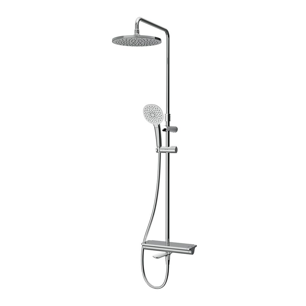 F0770A500 Spirit V2.0 душ.система, набор: смеситель д/ванны/душа с термостатом, верхн. душ d 250 мм,