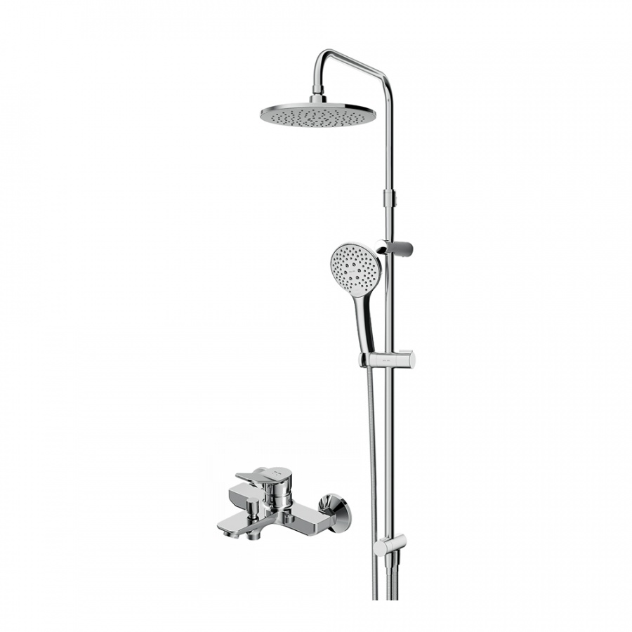 F40885A34 X-Joy набор 2в1: см-ль д/ванны/душа, верхний душ d 220 мм, ручн.душ 110 мм, 3 ф-ции, душев