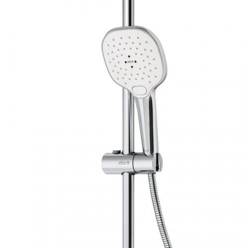 D0140000 Prime душевой комплект, ручной душ 5 функций, стойка 600 мм, шланг 175 мм