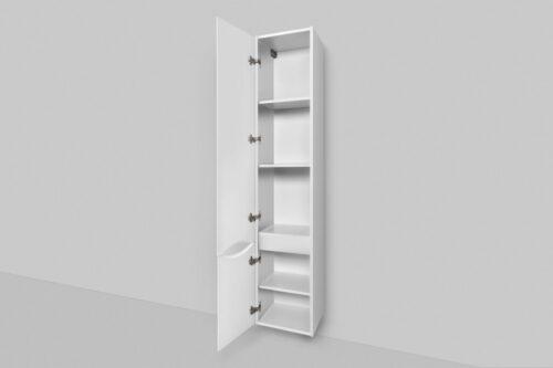 M80CHL0356WG Like, шкаф-колонна, подвесной, левый, 35 см, двери, белый, глянец, шт