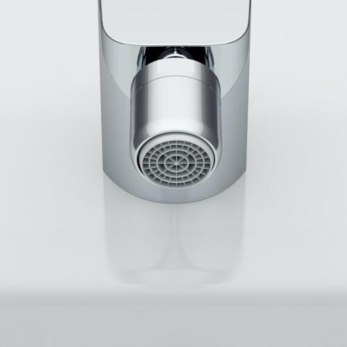 F5083100 Inspire, смеситель д/биде с д/к, излив 121 мм, хром, шт