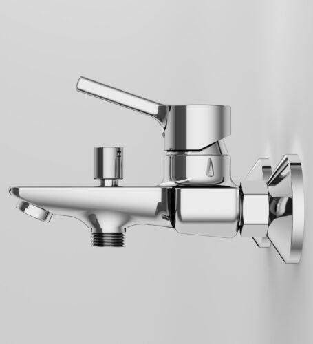 F85B10000 X-Joy S, смеситель для ванны и душа излив 164 мм, хром, шт