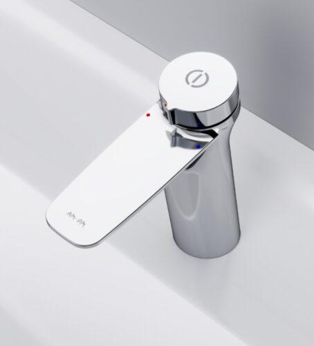 F50A82500 Inspire V2.0, TouchReel см-ль с д/к, излив 125 мм, хром
