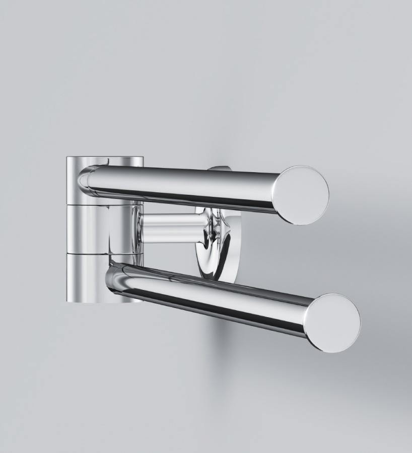 A8032600 Like, Двойная вешалка-вертушка для полотенец