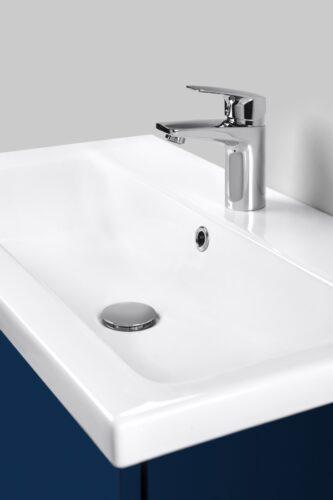 M90WCC0602WG GEM, Раковина мебельная, керамическая, 60 см, встроенная, цвет: белый, глянец