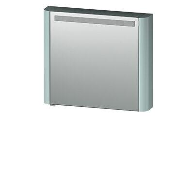 M30MCR0801GG Sensation, зеркало, зеркальный шкаф, правый, 80 см, с подсветкой, мятный, глянцевая