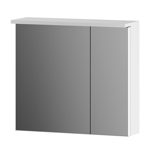 M70MCX0601WG SPIRIT, Зеркальный шкаф, 60 см, с подсветкой цвет: белый, глянец