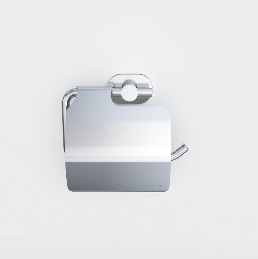 A74341400 Sense L, Держатель для туалетной бумаги с крышкой, хром