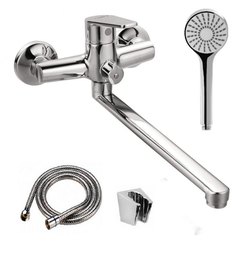 D4095000 Prime смеситель для ванны и душа универсальный излив