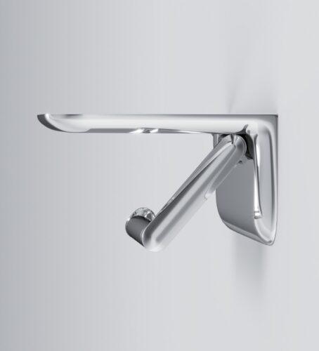 A30341500 Sensation, Держатель для туалетной бумаги с полкой, хром, шт
