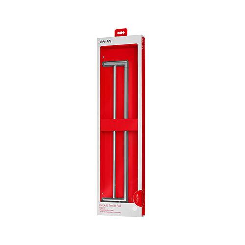 A50336464 Inspire, Двойная вешалка для полотенец, 60 см, хром, шт