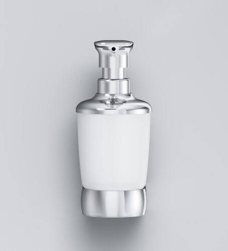 A3036900 Sensation, Стеклянный диспенсер для жидкого мыла с настенным держателем, хром, шт