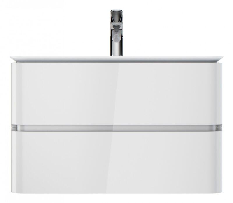 M30FHX0802WG Sensation, База под раковину, подвесная, 80 см, ящики, белый, глянцевая, шт