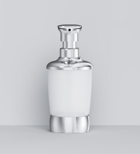 A3031900 Sensation, Стеклянный диспенсер для жидкого мыла, отдельно стоящий, хром, шт