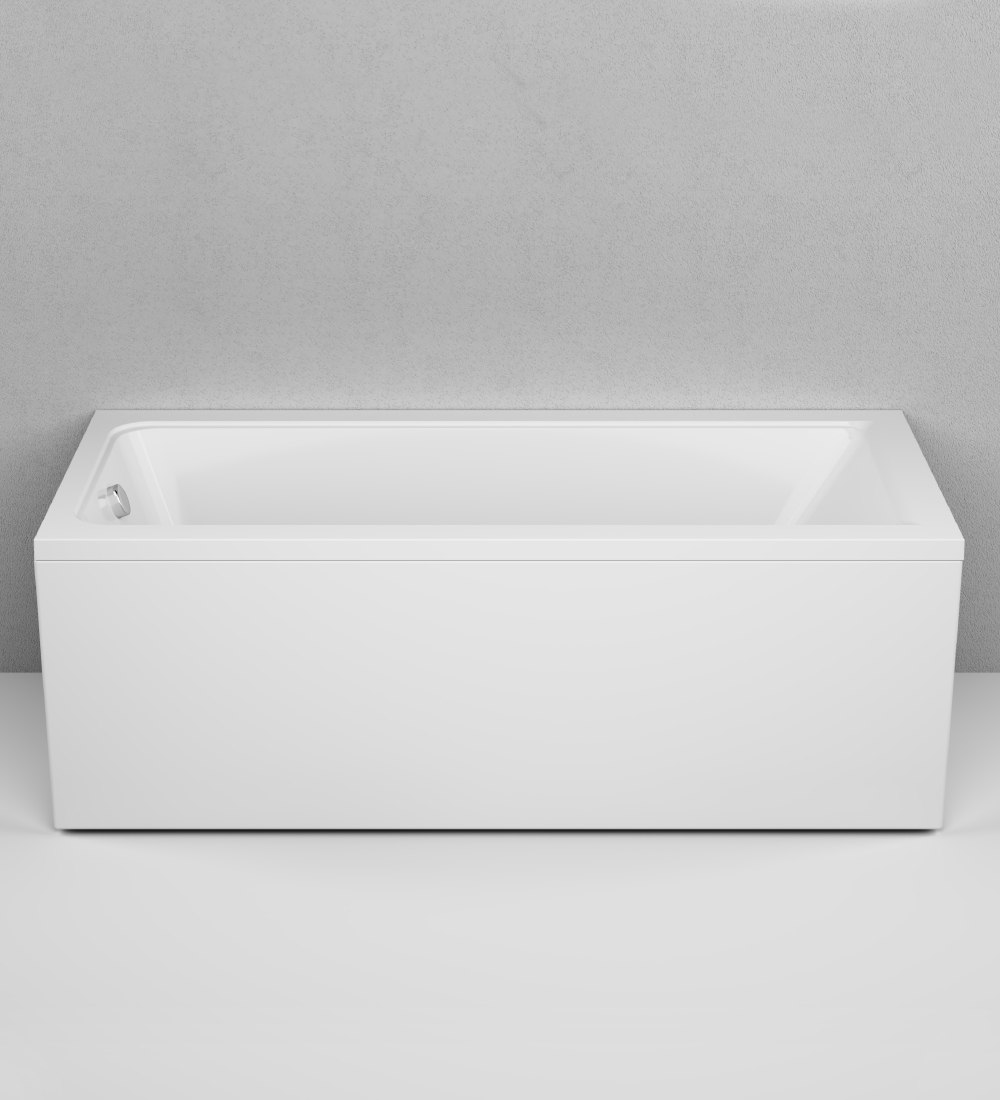 W90A-170-075W-A Gem Ванна акриловая 170x75