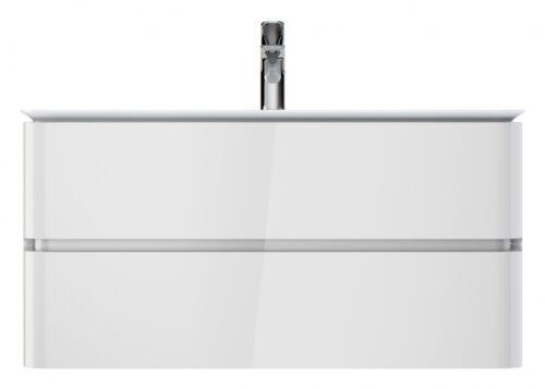 M30FHX1002WG Sensation, База под раковину, подвесная, 100 см, ящики, белый, глянцевая, шт