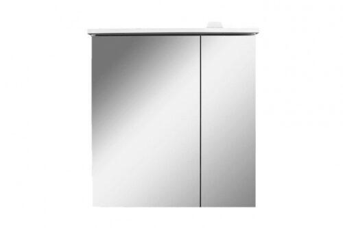 M70AMCL0601WG SPIRIT 2.0, Зеркальный шкаф с LED-подсветкой, левый, 60 см, цвет: белый, глянец
