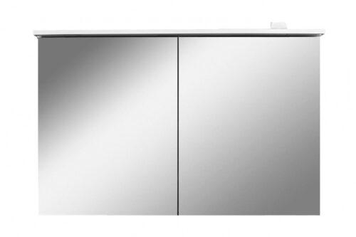 M70AMCX1001WG SPIRIT 2.0, Зеркальный шкаф с LED-подсветкой, 100 см, цвет: белый, глянец