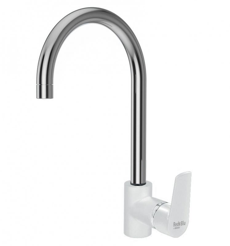 790730000 Origin Balance смеситель для кухни двуцветный белый