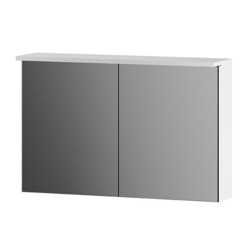 M70MCX0801WG SPIRIT, Зеркальный шкаф, 80 см, с подсветкой цвет: белый, глянец