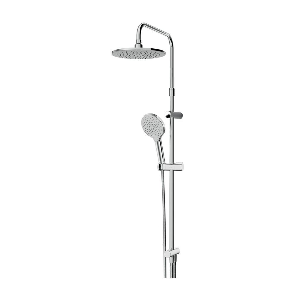 F0780100 Like душ.система, набор: верхн.душ d 220 мм, ручн.душ 3 ф-ции d 110 мм, переключатель, душ.