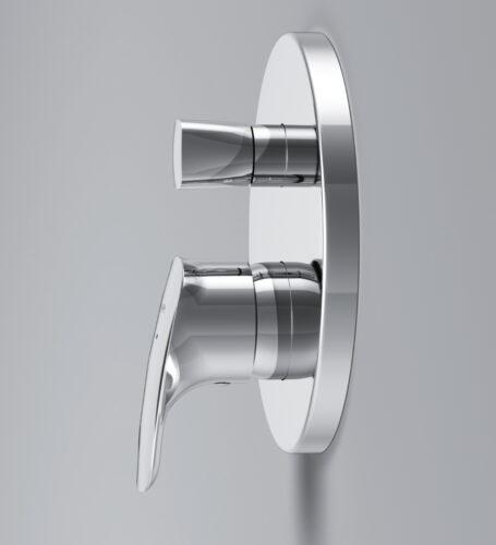 F71A85000 Spirit 2.1, cмеситель д/ванны/душа монтируемый в стену, хром, шт.
