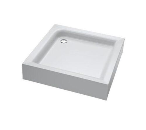 W53T-303-090W BLISS L Square Slide. Поддон для душ.уголка, 90x90, белый акрил