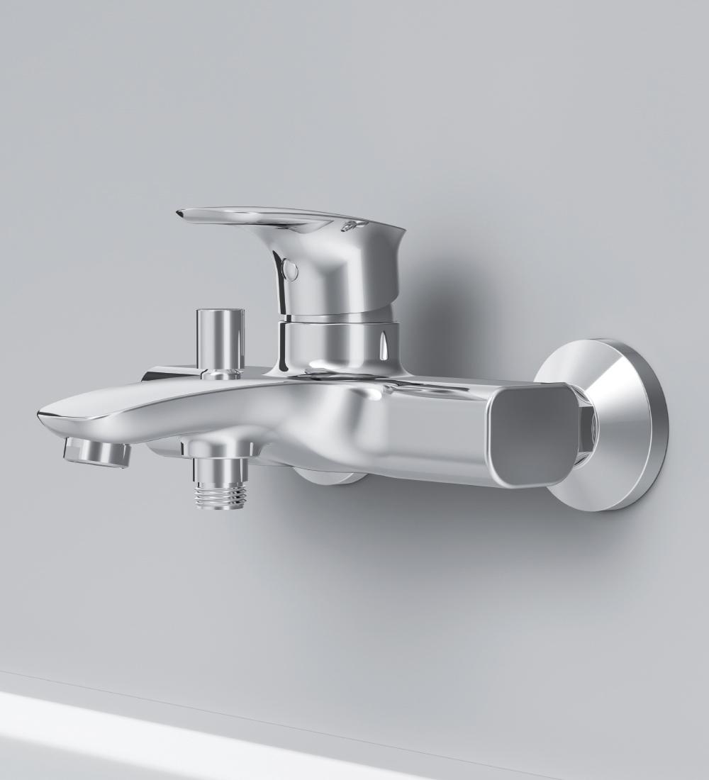 F71A10000 Spirit V2.1 смеситель д/ванны/душа, хром, шт