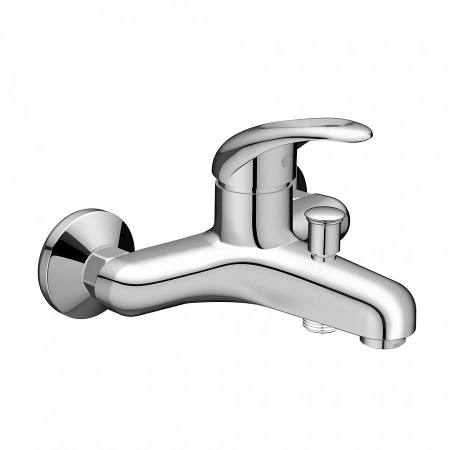 D8010000 Comfort смеситель для ванны, материал полимер, цвет хром