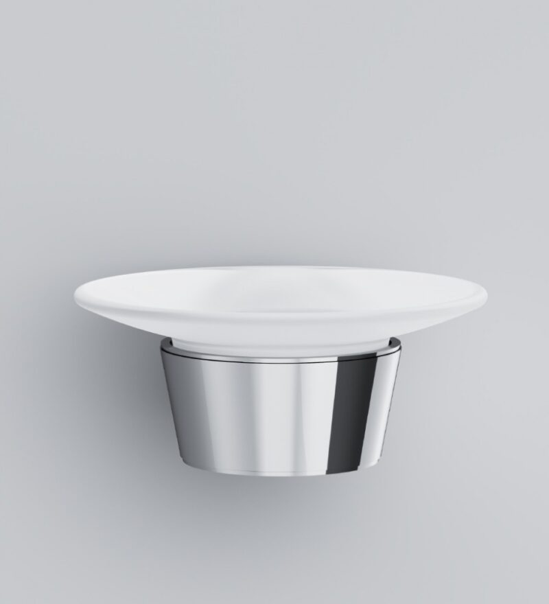 A8034200 Like, Стеклянная мыльница с настенным держателем