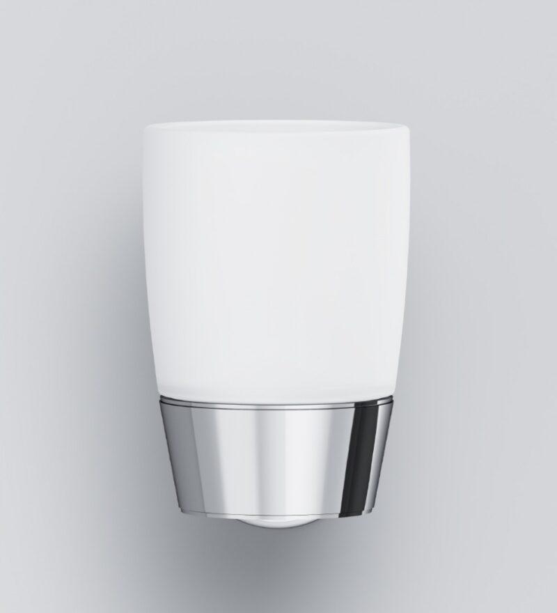 A8034300 Like, Стеклянный стакан с настенным держателем