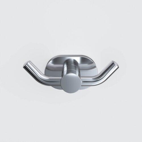 A7435600 Sense L, Двойной крючок для полотенец, хром