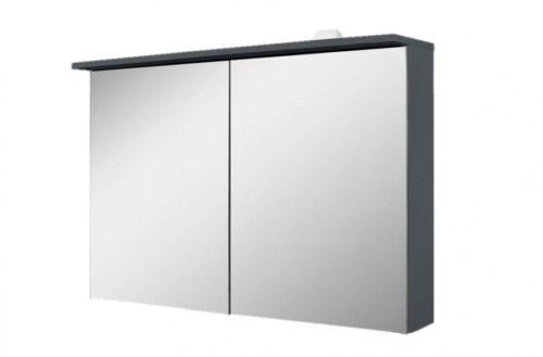M70AMCX1001GM SPIRIT 2.0, Зеркальный шкаф с LED-подсветкой, 100 см, цвет: графит, матовый