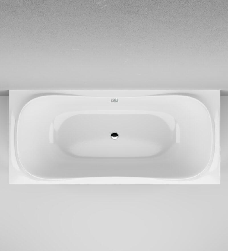 W30A-180-080W-A Sensation, ванна акриловая A0 180х80 см, шт