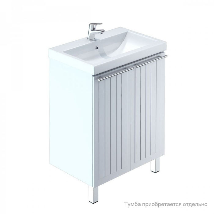 Умывальник мебельный, 60 см, 001, IDDIS/Milardo, 0016000U28