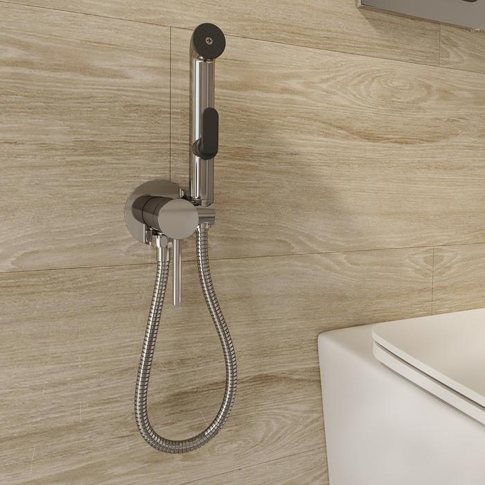 Встраиваемый смеситель с гигиеническим душем, Milardo, 001SBR0M08