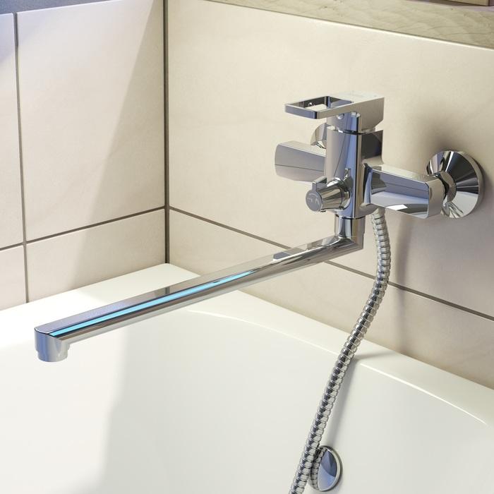 Смеситель для ванны с длинным изливом, Bild, IDDIS, BILSB00i10WA