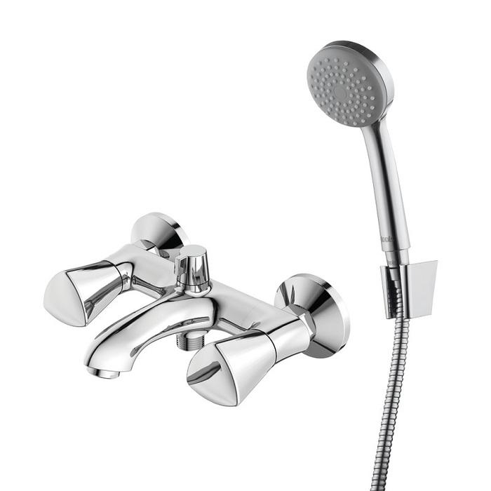 Смеситель для ванны с керамическим дивертором Bounce, IDDIS, BOUSB02i02