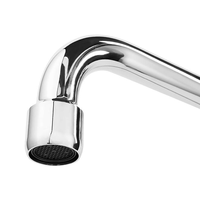 Смеситель для ванны с длинным изливом с керамическим дивертором,  Cadiss, Milardo, CADSBLCM10